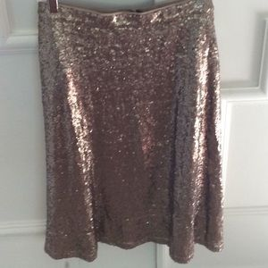 Ann Taylor sequined skirt NWT